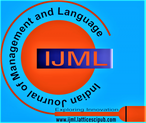 Indian Journal of Management and Language (IJML)